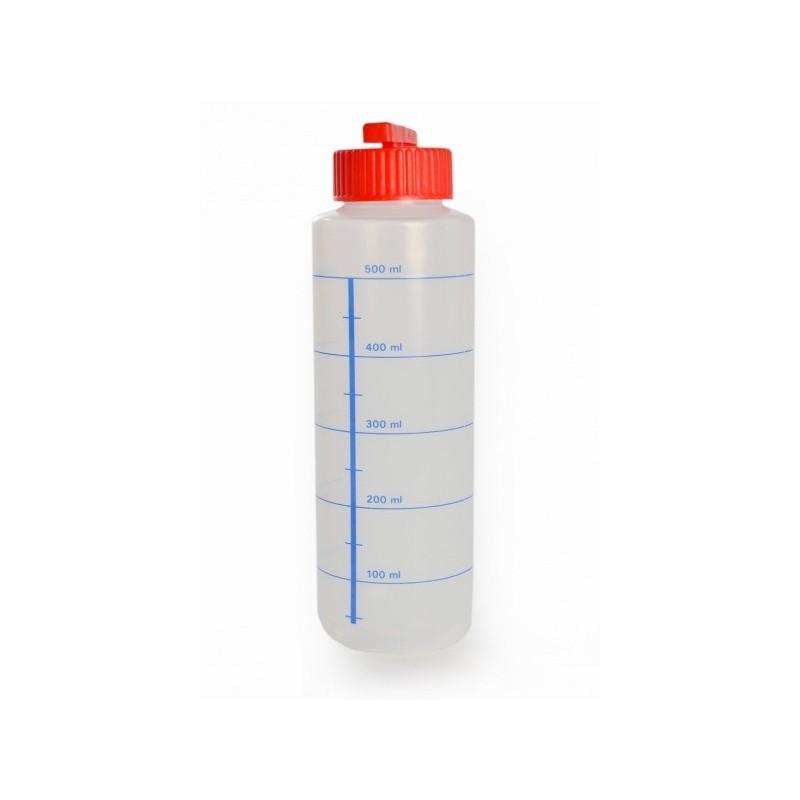Dosierflasche leer neutral mit Deckel