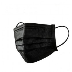 OP Maske Typ IIR 3-lagig schwarz