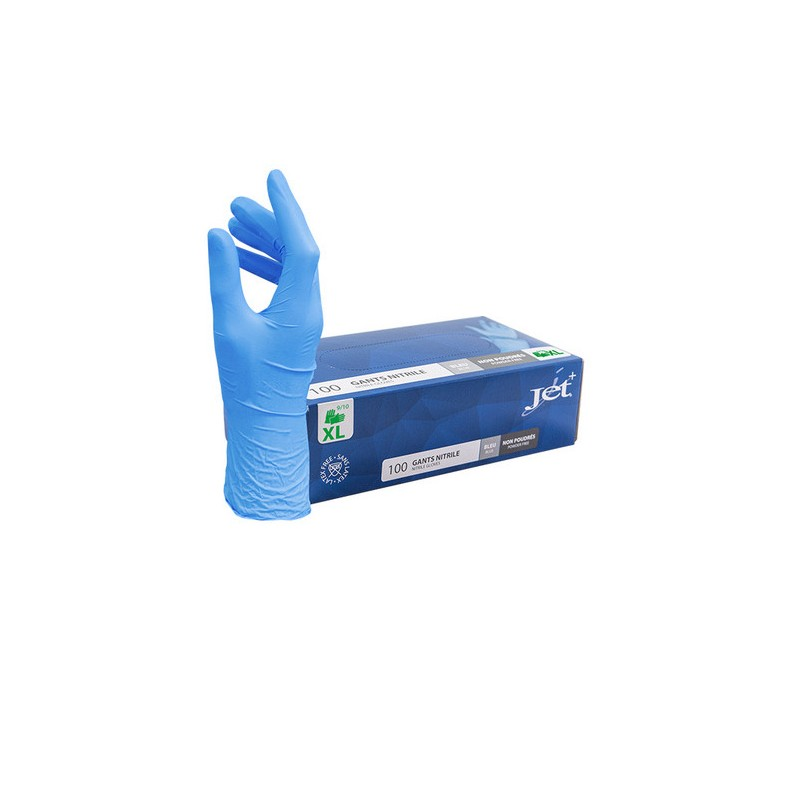 Nitrilhandschuhe blau Grösse XL